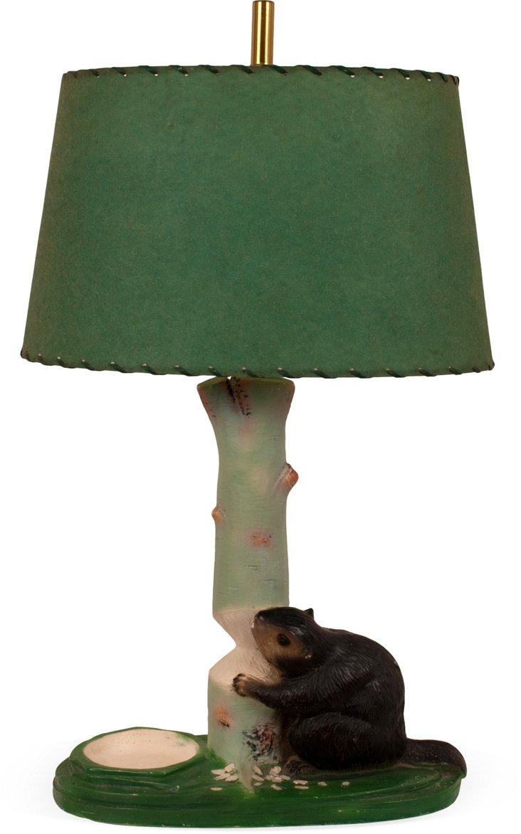 Beaver Table Lamp