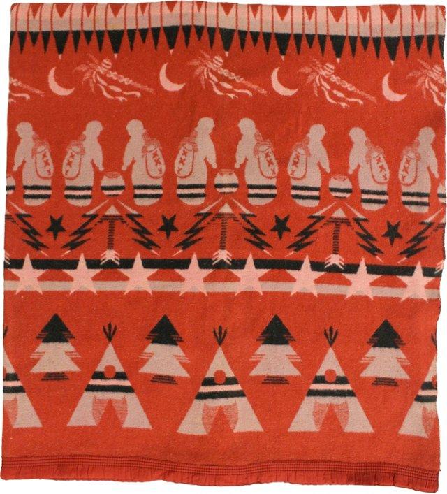 Teepee Camp Blanket