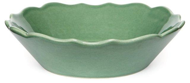 S/4 Baroque Bowls, Green