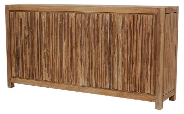Obi Hidden-Door Sideboard, Natural