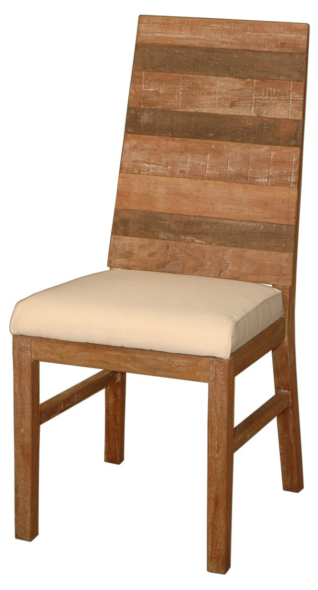 Sedona Dining Chair, Natural/Ivory