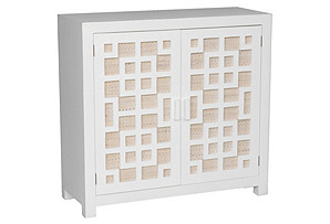 Tatum Chest, White