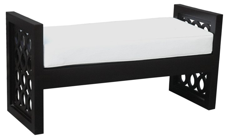 Emory Bench, Black