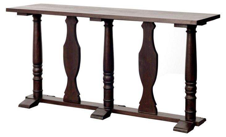 Roscoe Console Table, Espresso