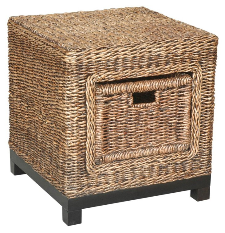 Rinna Woven End Table