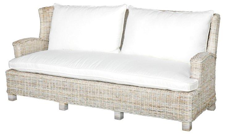 Hyannis Sofa, Gray/Cream