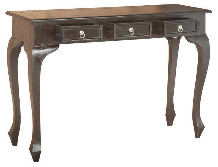 Mulligan Console Table, Black