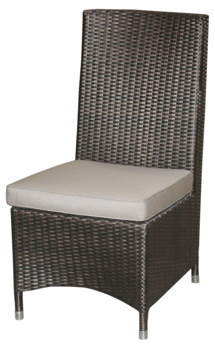 Cosy Side Chair, Wenge/Gray