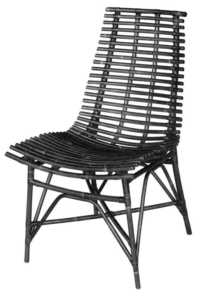 Claiborne Side Chair, Wenge