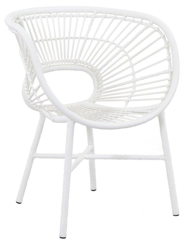 Cassie Chair, White