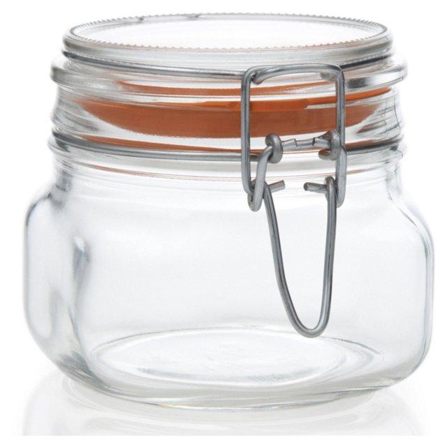 S/4 Hermetic Jars, 17 Oz