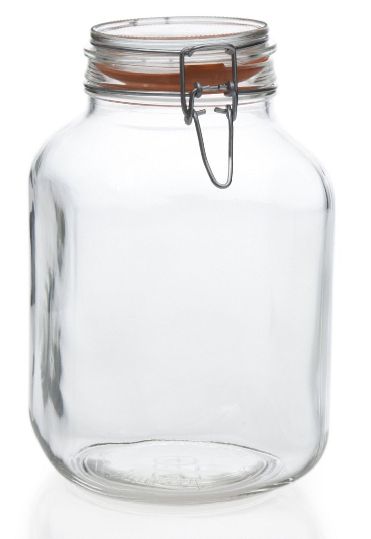 S/2 Hermetic Jars, 105 Oz