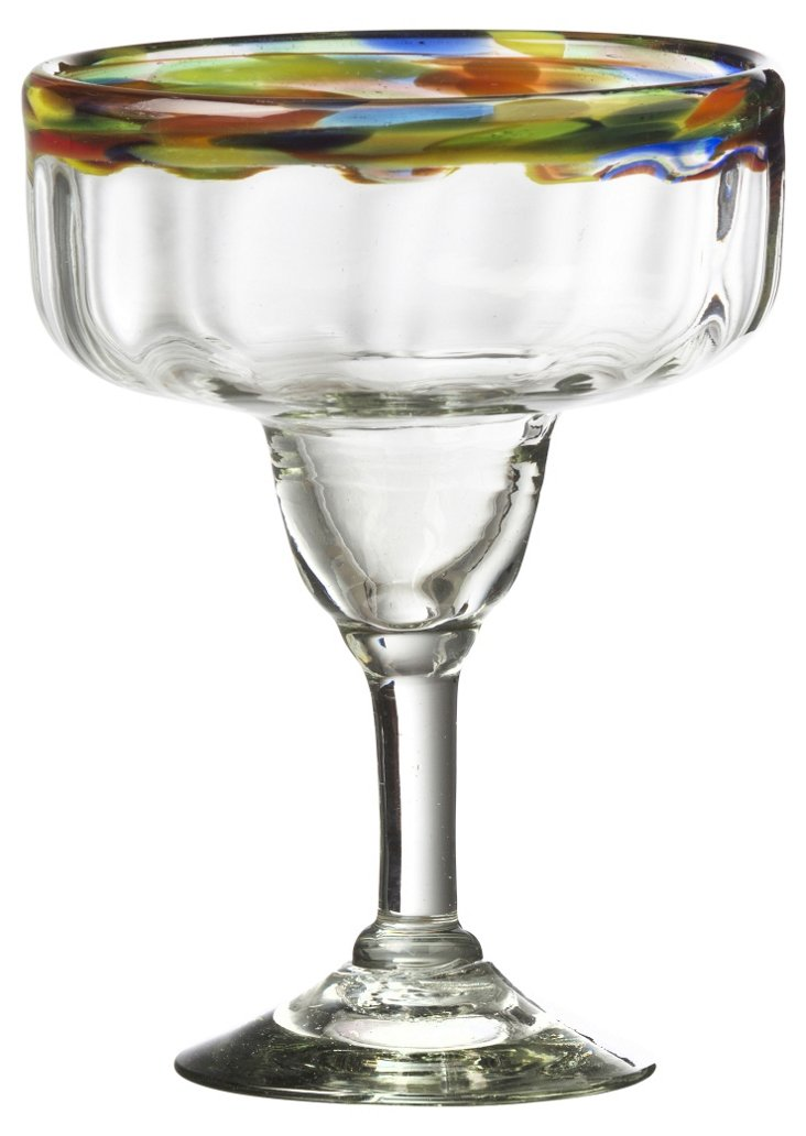 S/4 Optic Collection Margarita Glasses