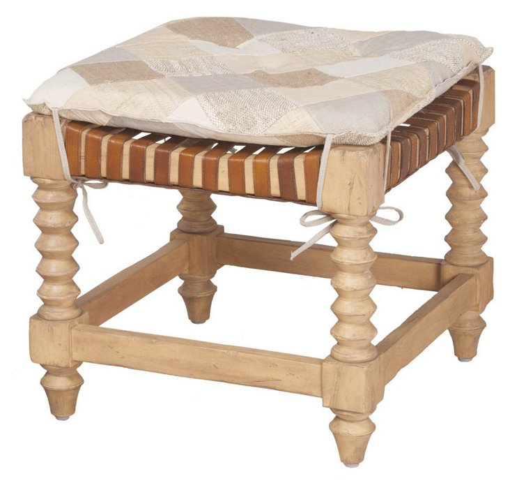 Hill Cottage Ottoman
