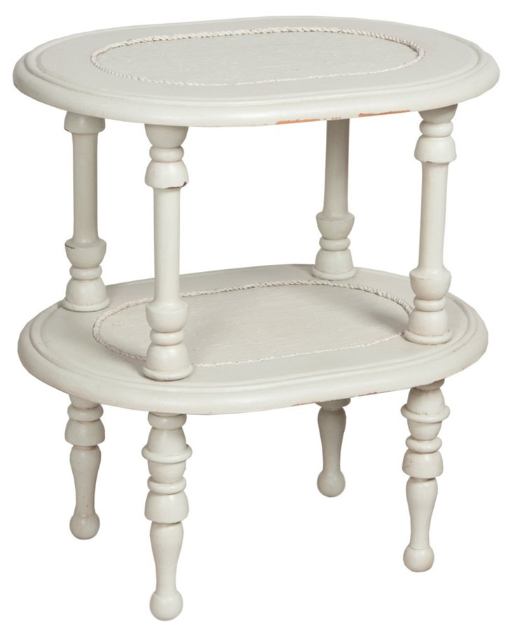 Myer Cane Side Table