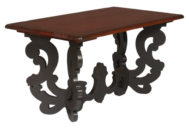 Italian Carved Coffee Table