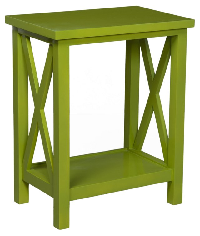 Axel Side Table, Grass