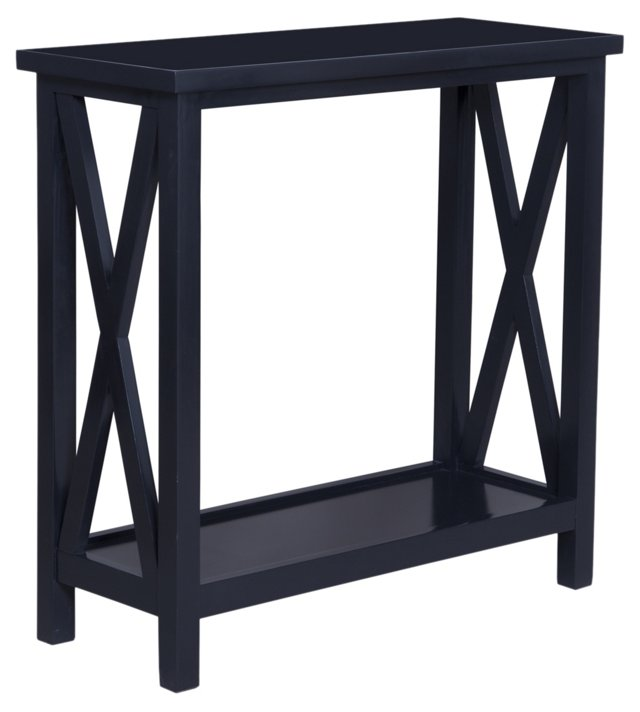 Goran Console Table, Black