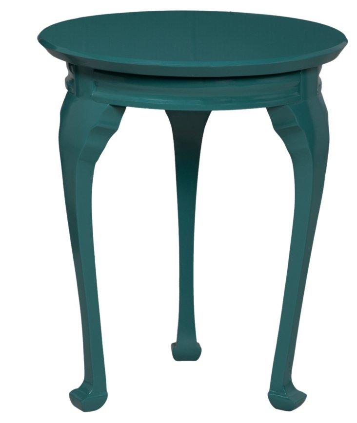 Alden Side Table, Teal
