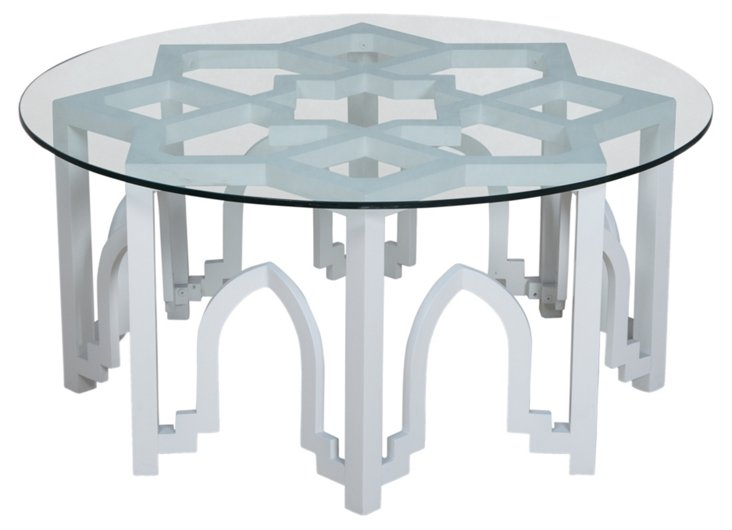 Abby Coffee Table, White