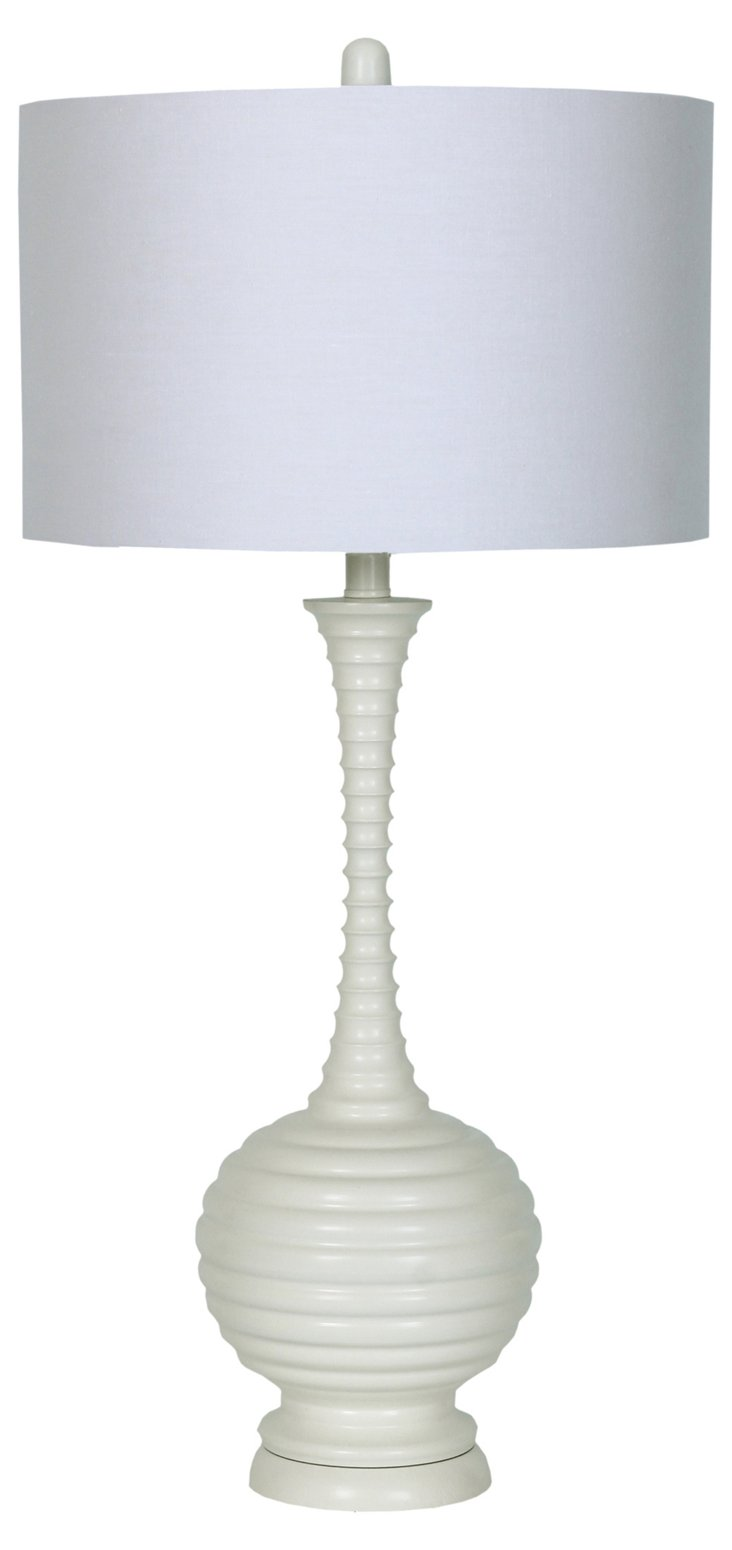 Margo Table Lamp, White