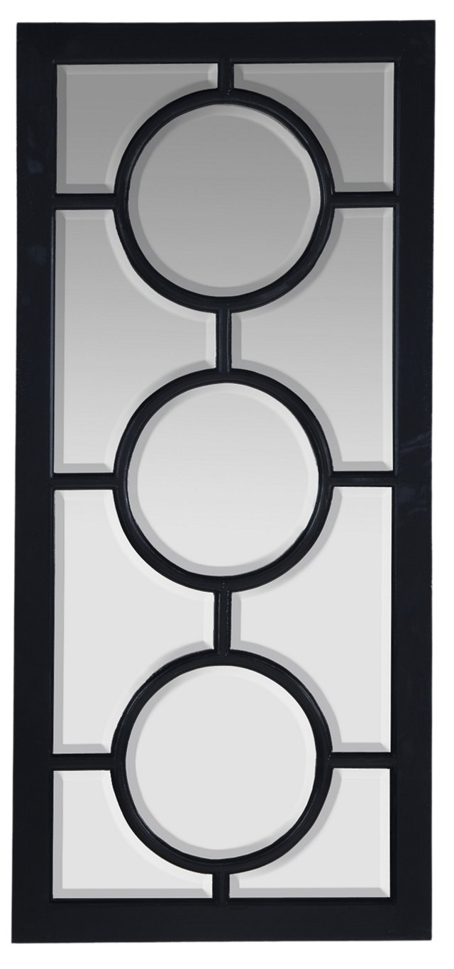 "Abigail 52"" Mirror, Black"