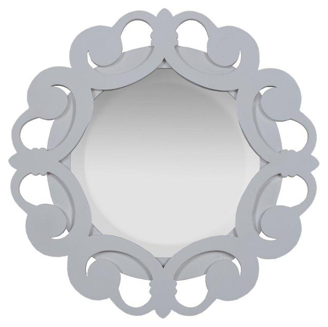 Nina Mirror, White