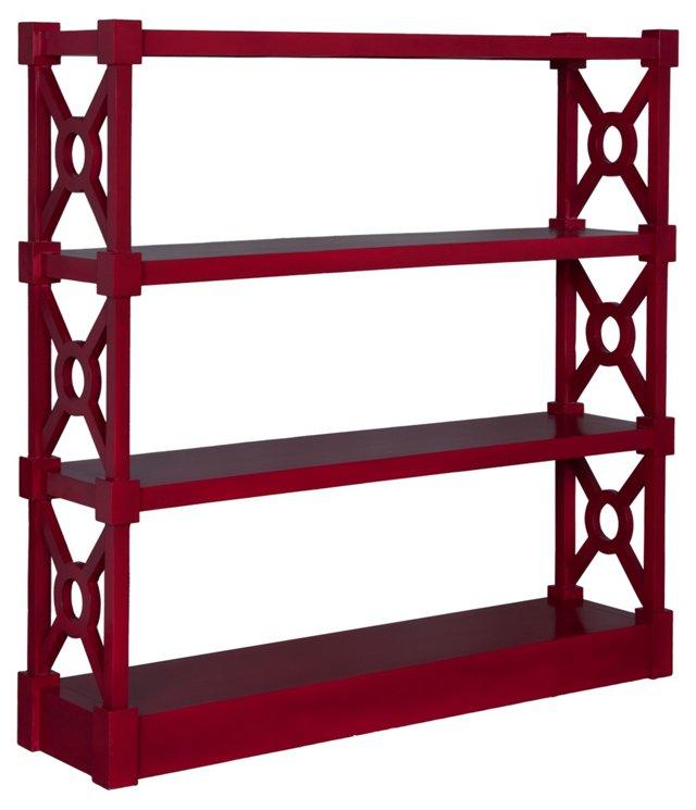 Britta Bookshelf, Red