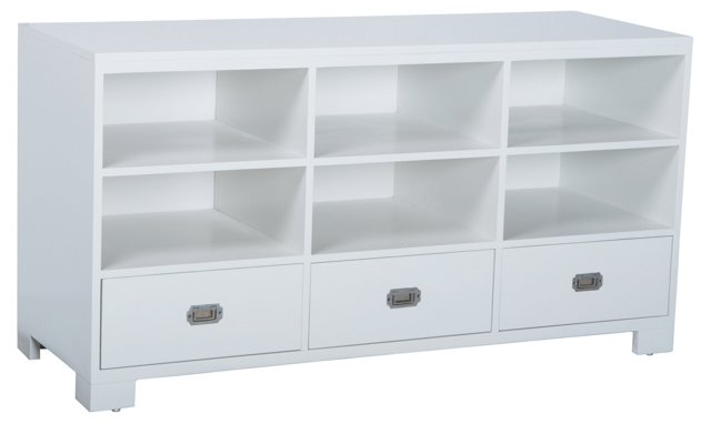 Emilia Storage Cabinet, White