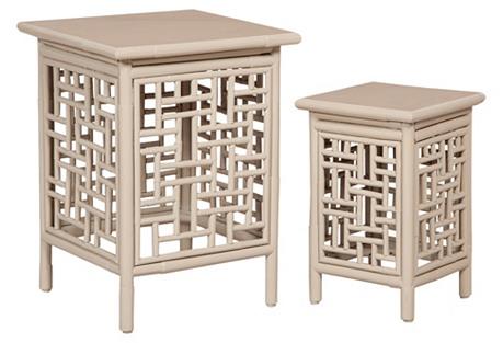 Thyme Garden Nesting Tables