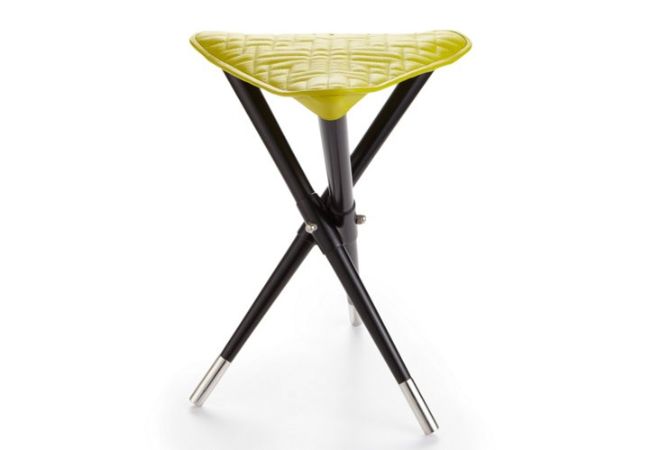Elegant Camp Stool, Citron