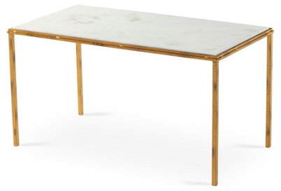Griffith Marble Coffee Table White Tables Living Room Furniture One Kings Lane