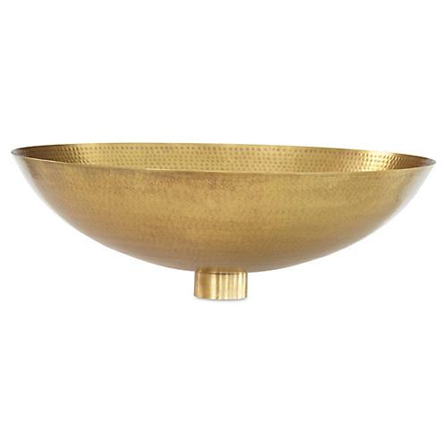 Indira Wall Bowl, Gold