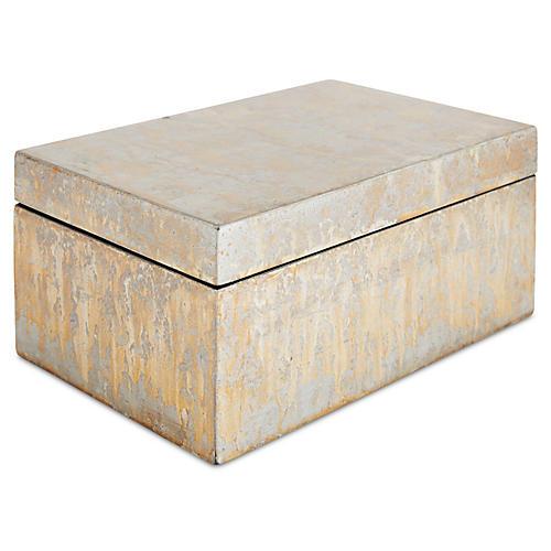 Silver-Leaf Box, Champagne