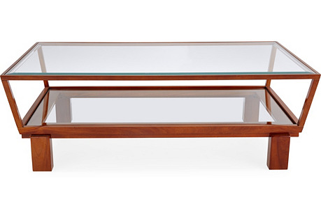 Taper Coffee Table, Auburn