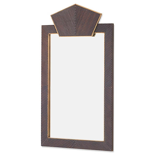 Wooden Mirror, Walnut