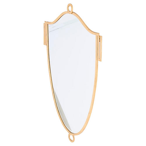 "Zena 40""x60"" Wall Mirror, Gold"
