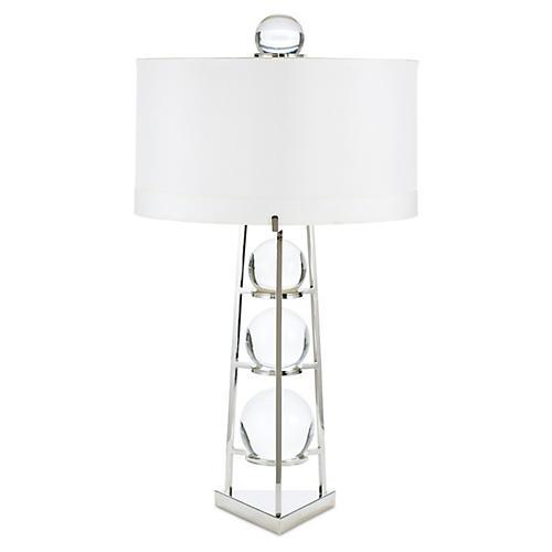 Fortune Teller Table Lamp, Crystal
