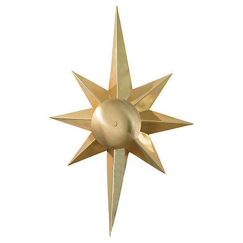 Klismos Star Sconce