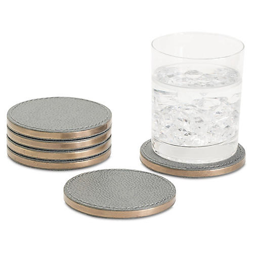 S/6 Alpen Coasters, Gray