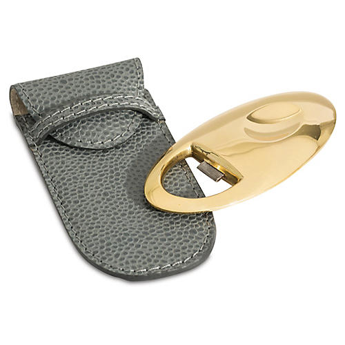 Gravitas Bottle Opener w/Pouch, Gray