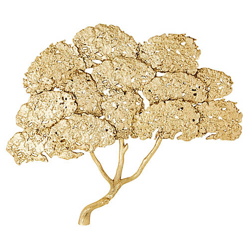 "29"" Golden Cypress Wall Art, Gold"