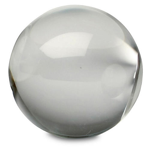 Crystal Sphere Accent, Clear