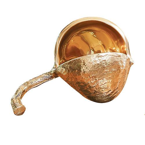 Chestnut Bowl, Polished Gold