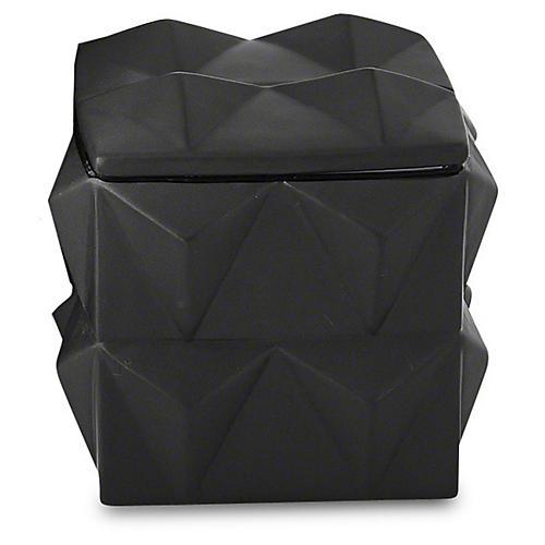Braque Decorative Box, Matte Black