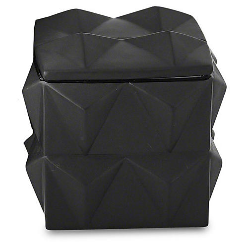 Braque Decorative Box, Matte Black