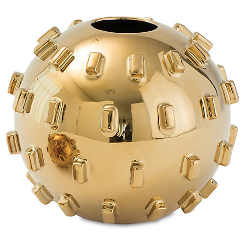 Thielo Decorative Vase, Gold