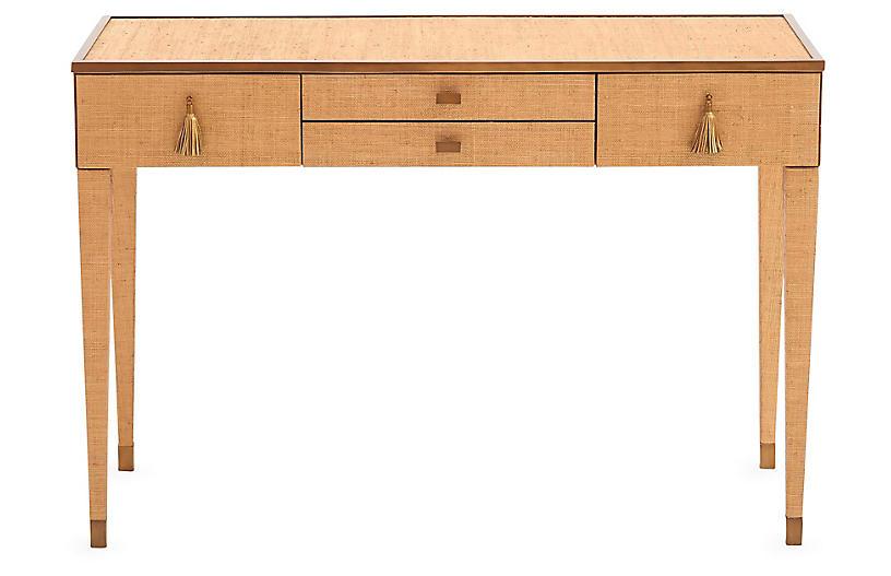 Ann Gish D'Oro Desk, Bronze