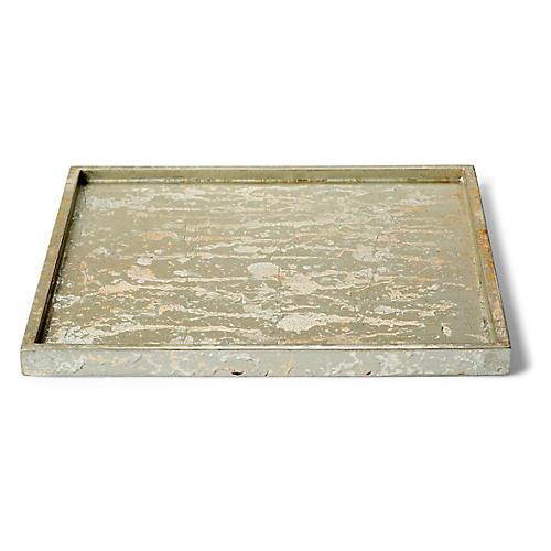 Champagne Bath Tray, Silver/Gold