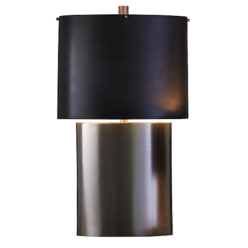 Nordic Large Table Lamp Silver Black